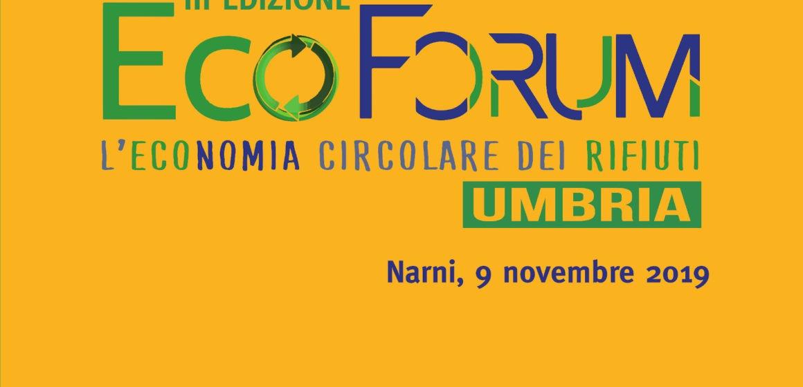 III Edizione dell'EcoForum, l'Economia Circolare dei Rifiuti in Umbria