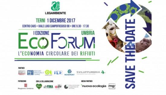 EcoForum prima edizione Umbria 2017
