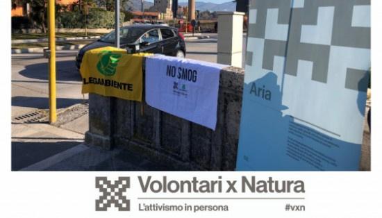 I dati del monitoraggio dell'aria di Terni e Foligno per Volontari X Natura
