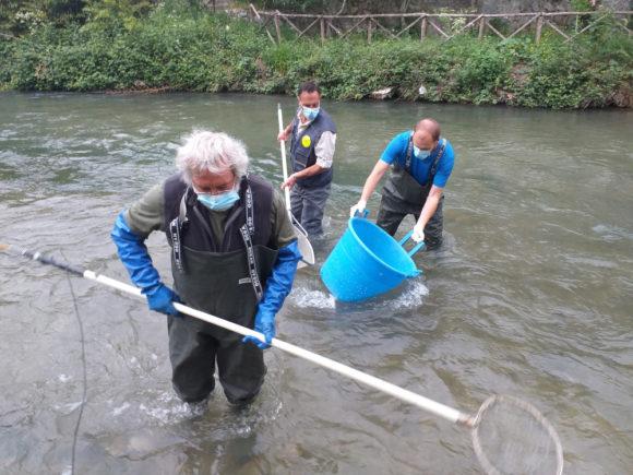 Legambiente Umbria e DCBB dell'Università di Perugia insieme per il monitoraggio dei fiumi della Valnerina.