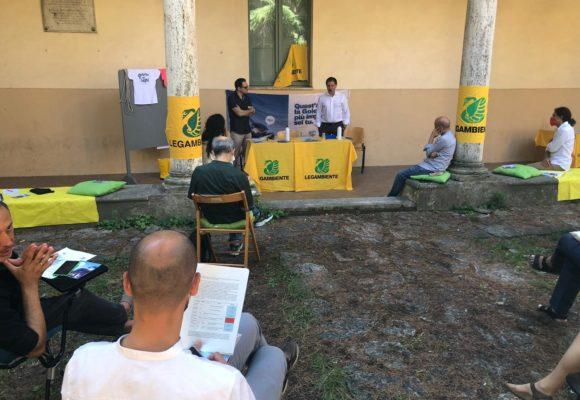 Il monitoraggio della Goletta dei Laghi di Legambiente in Umbria